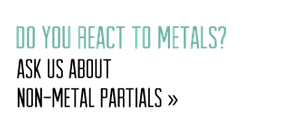 Do You React to Metals?